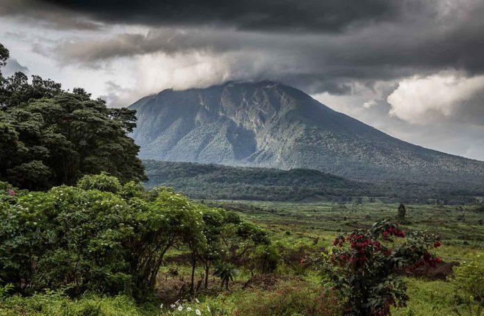 Virunga Mountains Congo