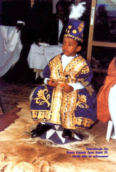 King Oyo at His Coronation
