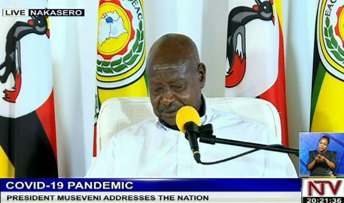 Museveni Covid Address
