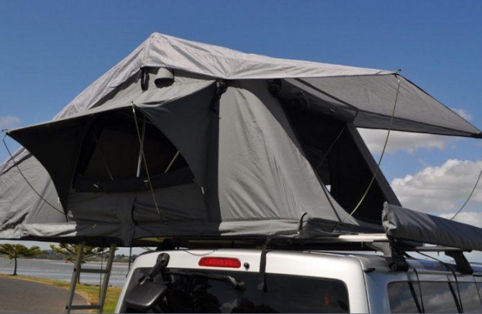 Rooftop Tent in Uganda